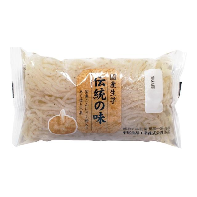 国産伝統の味 生芋糸こんにゃく 200g