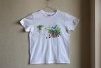 コットン100 Tシャツ 小鳥といちご