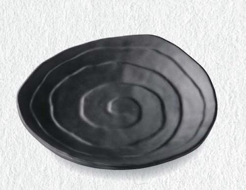 19.5ひねり内ウズ巻皿 6-376-10