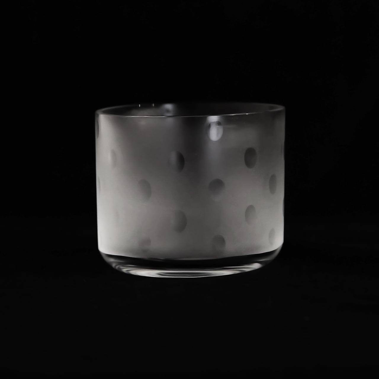 大迫友紀 Yuki Osako 真ん中のグラス 線と丸 (丸)