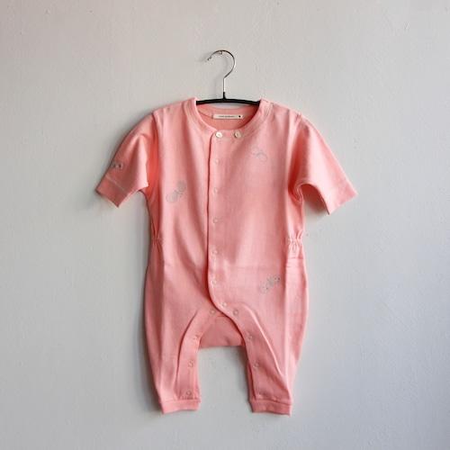 《mina perhonen 2020AW》choucho ロンパース / pink / 60・70cm