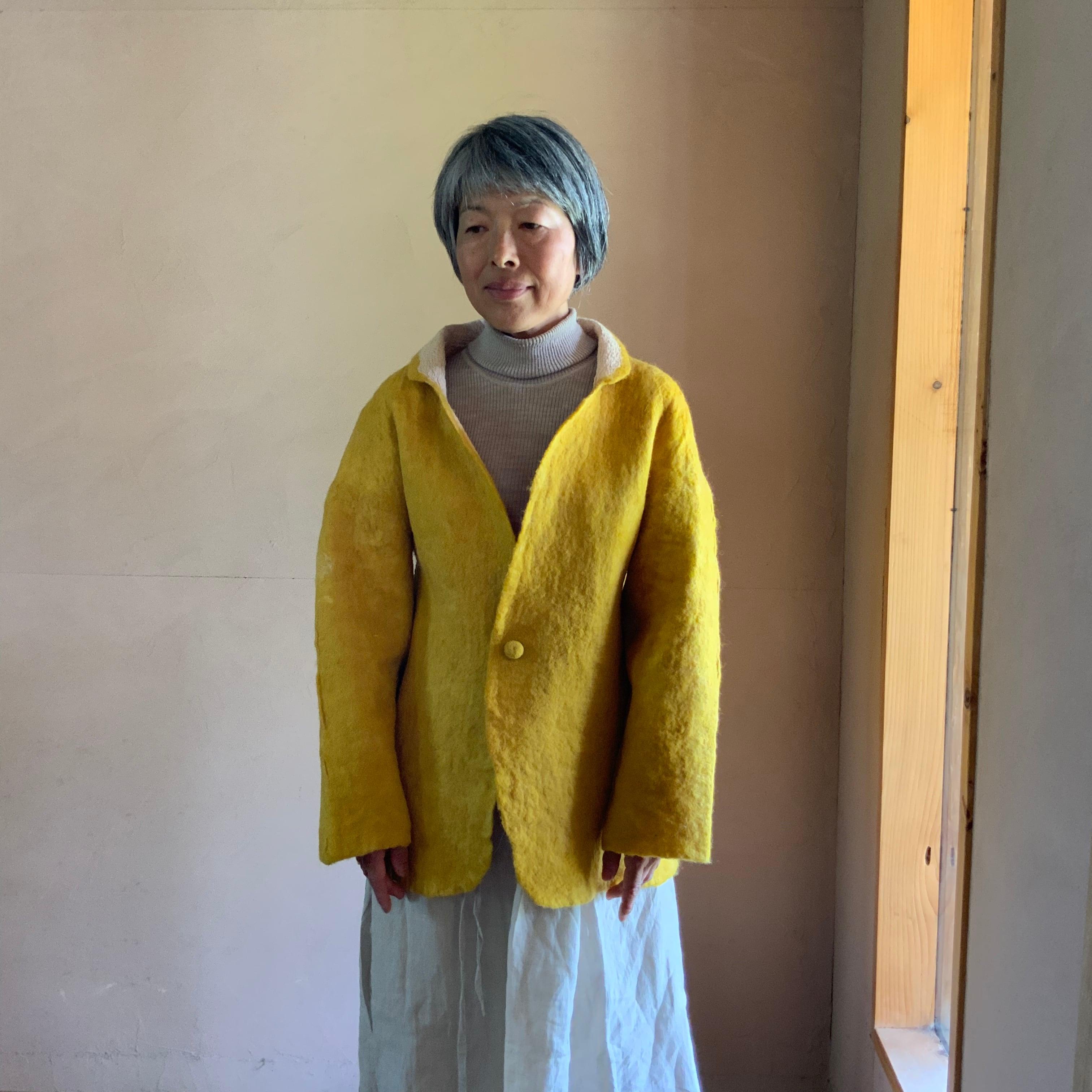JAS1-21001 ショートジャケット 黄