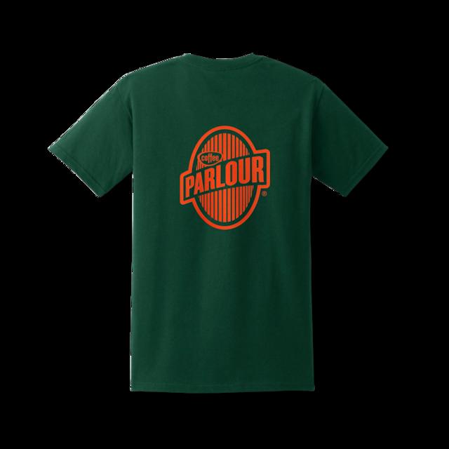 PARLOUR STORE x COFFEE SUPREME JAPAN Tシャツ・ロゴミックスバージョン