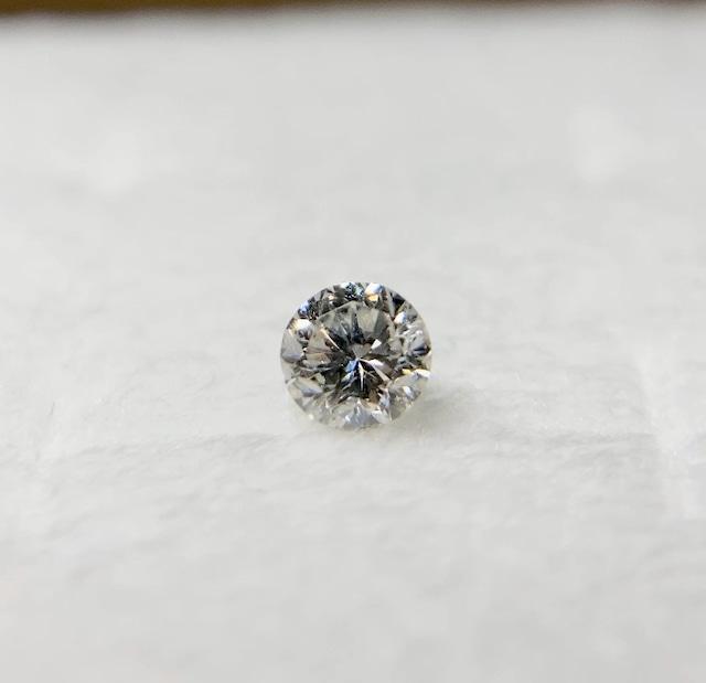 ダイヤモンド 0.261ct 簡易ソーティング付き No:19W-4022