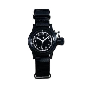Naval military watch Mil.-04 BK/BK US MARINE USN BUSHIPS  type