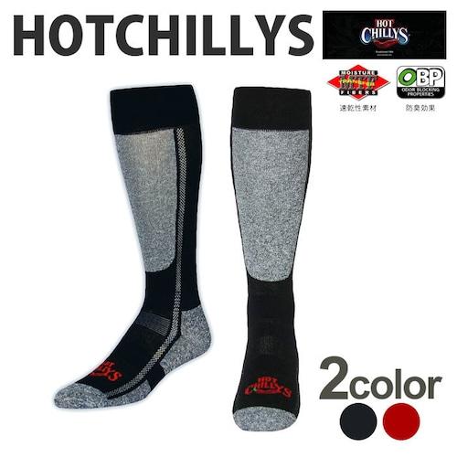 HOT CHILLYS (ホットチリーズ) メンズ プレミア ソックス 中厚 HC2213 冬 スキー スノボ アウトドア 雪山 ノルディック 靴下