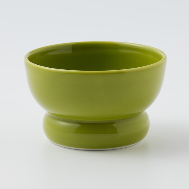 有田焼【まどか】ロータイプ(水用) 翠(みどり)  製造:アリタポーセリンラボ