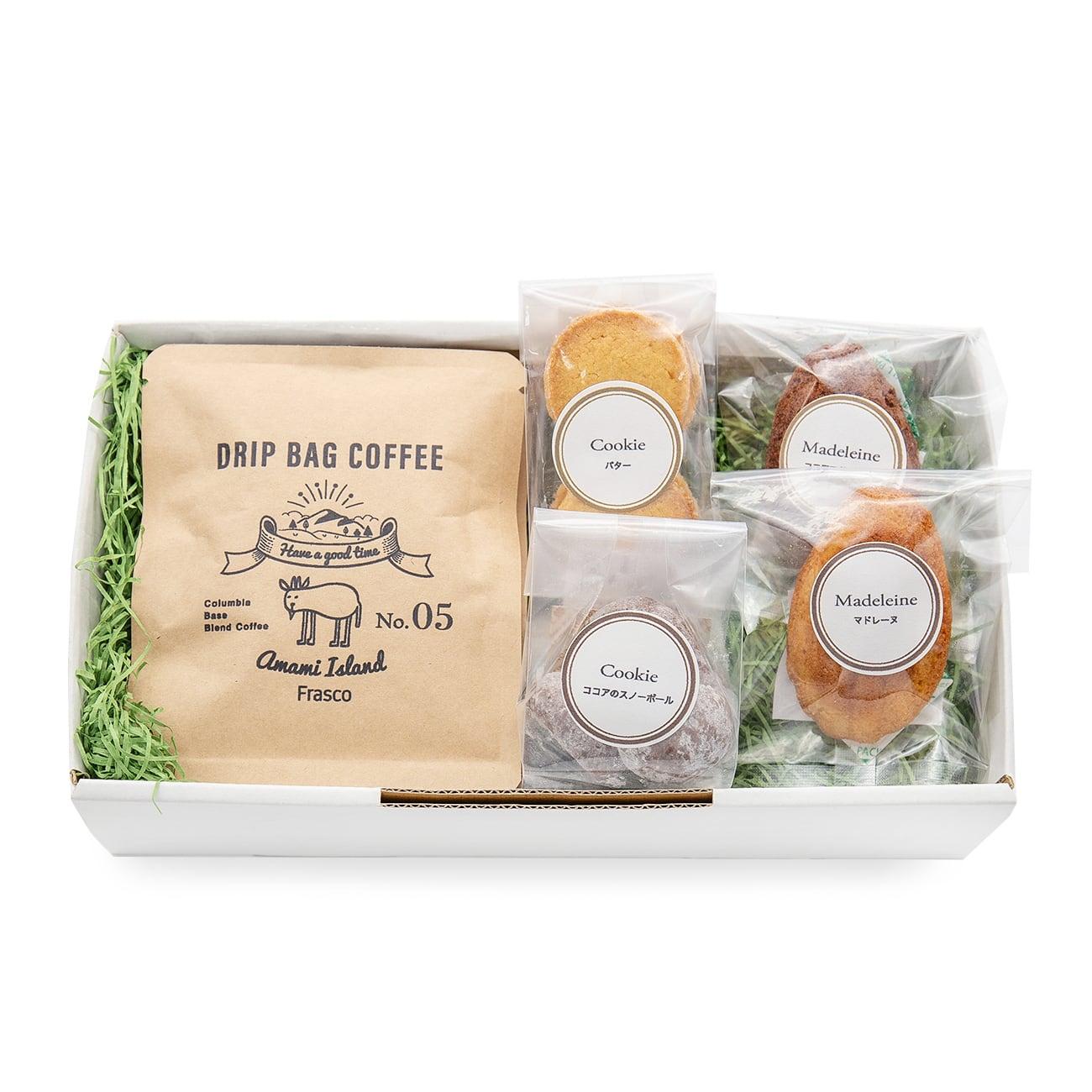 珈琲と焼菓子のセット gift-A