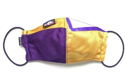 【デザイナーズマスク 吸水速乾COOLMAX使用 日本製】NBA LAKERS SPORTS SPECIAL MASK CTMR 1125036
