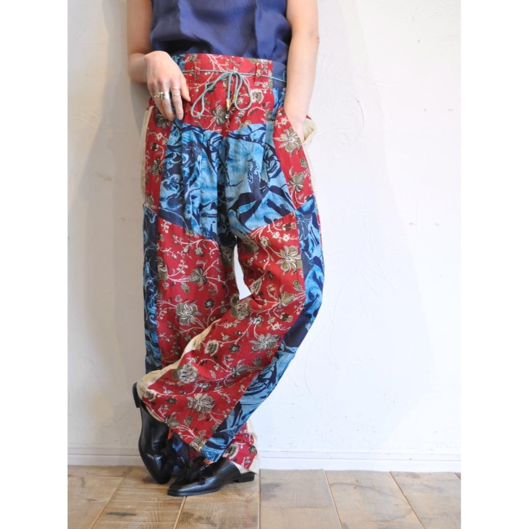 【 RehersalL 】ethnic high waist pants (light 2)/【リハーズオール】エスニックハイウェストパンツ(ライト2)