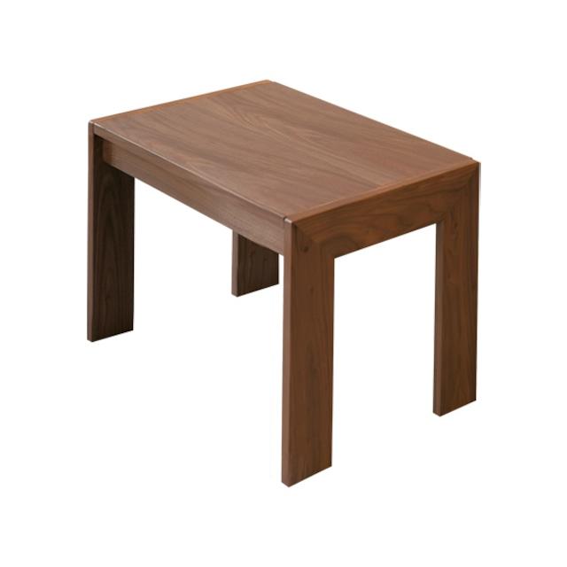 カンナ サイドテーブル L ウォールナット