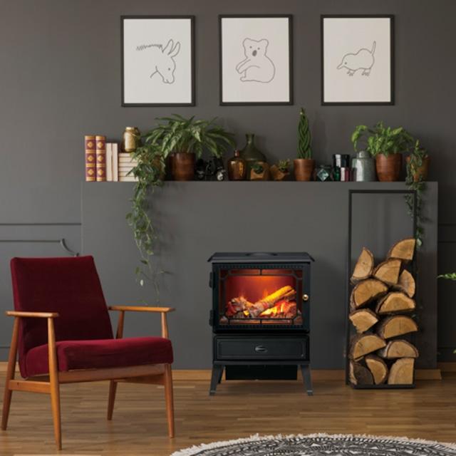【お取り寄せ商品】Dimplex Electric Fire(電気暖炉)Glasgow