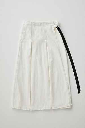 <44%OFF SALE>SAFINIA(WHITE/BLUE)ラップスカート