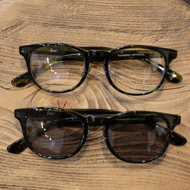 1sin(イッシン) CIRCLE別注innovator グリーン 眼鏡・サングラス