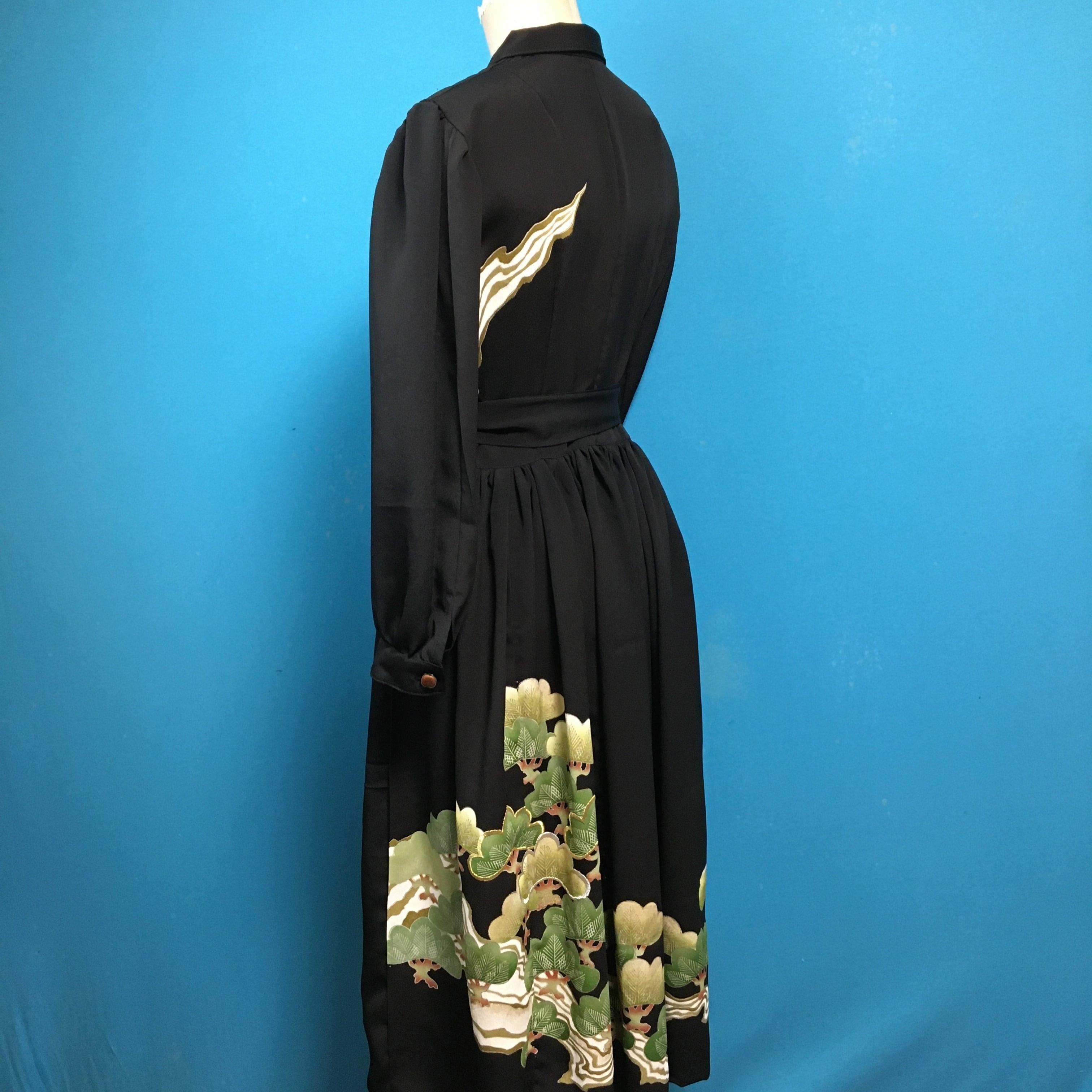Vintage black US 6-8 松