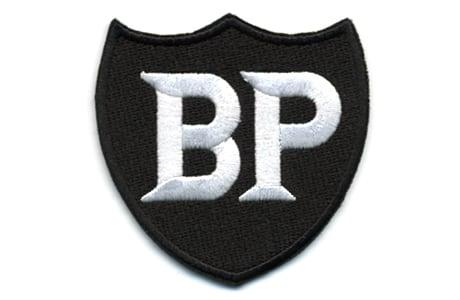 BP・ロゴ・ワッペン