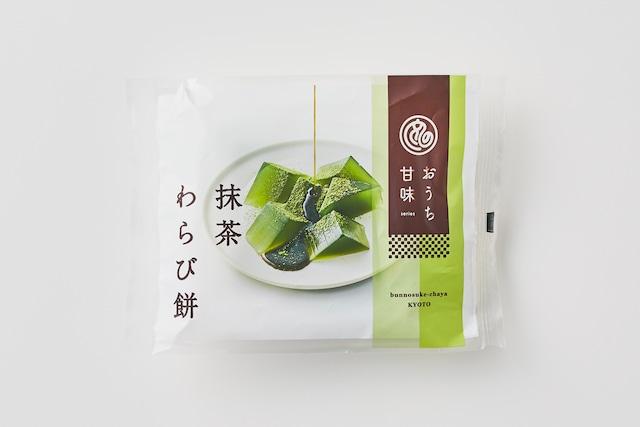 おうち甘味 抹茶わらび餅