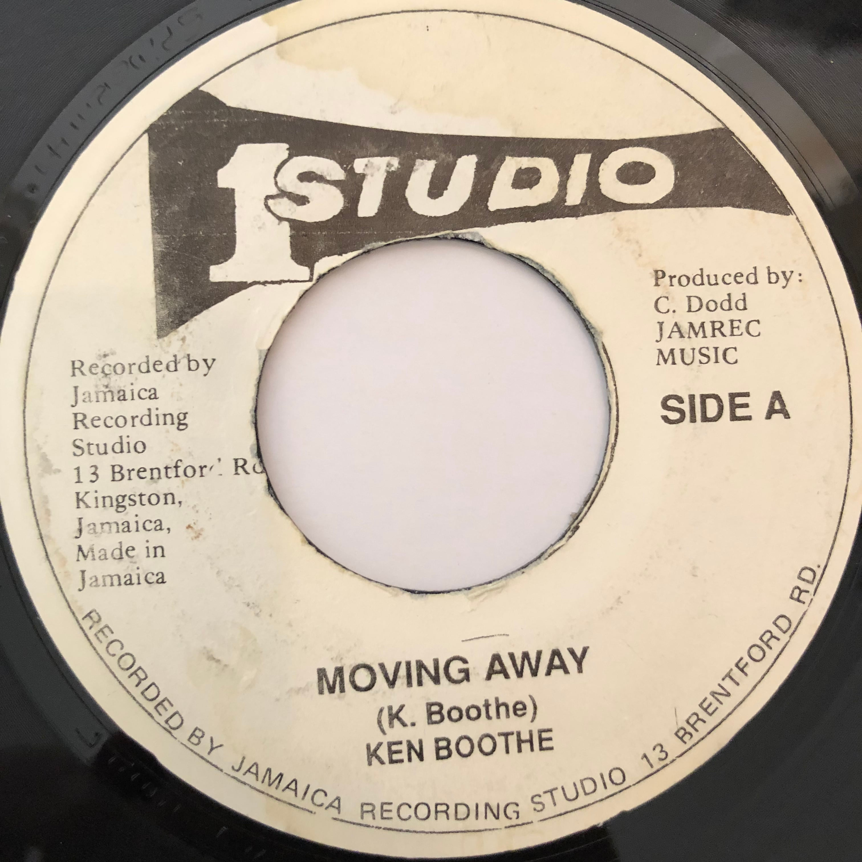 Ken Boothe(ケンブース) - Moving Away【7-20240】