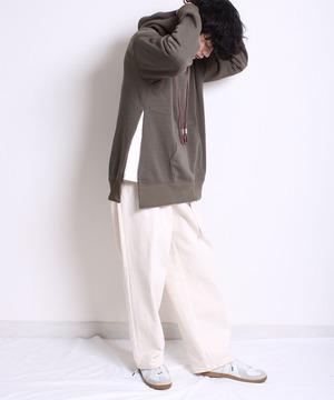 Bring collab remake hoodie -khaki<LSD-BA3T5>