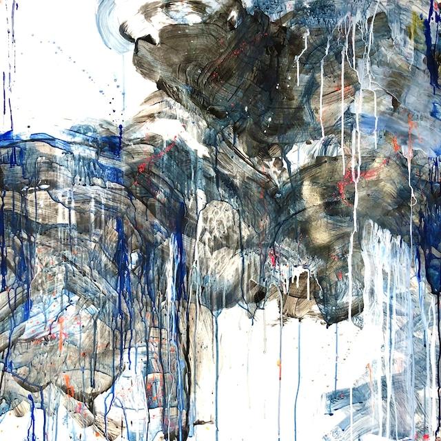 絵画 絵 ピクチャー 縁起画 モダン シェアハウス アートパネル アート art 14cm×14cm 一人暮らし 送料無料 インテリア 雑貨 壁掛け 置物 おしゃれ抽象画 現代アート ロココロ 画家 : tamajapan 作品 : t-24  /  tamajapan