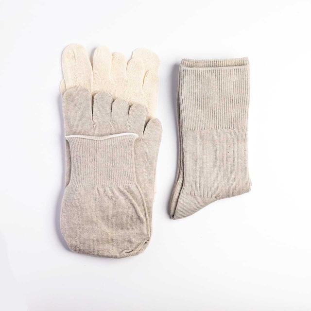 SUMI.LAB重ね履き靴下3足セット