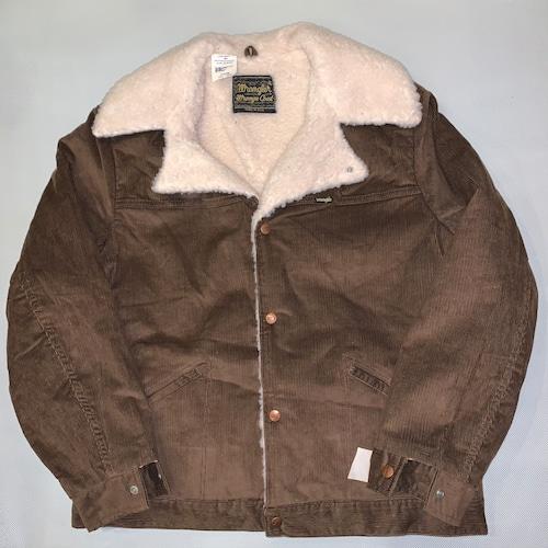 Wrangler Wrange coat ランチコートJL457BN / Corduroy  L-s 70-80's Dead stock  #107
