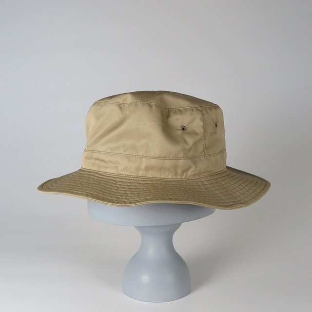 SS20-BD-6 Supima Cotton W-Face Hat BEG