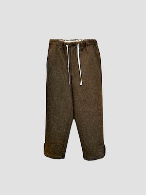 KHOKI H pants Brown 21aw-p-01