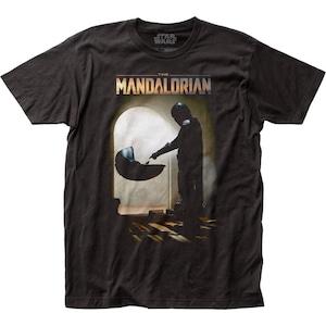 Tシャツ スター・ウォーズ マンダロリアン マンドー ミーツ ザ・チャイルド