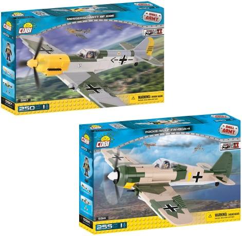 COBI Set #05 Luftwaffe (ドイツ空軍1941)  (2機セット)