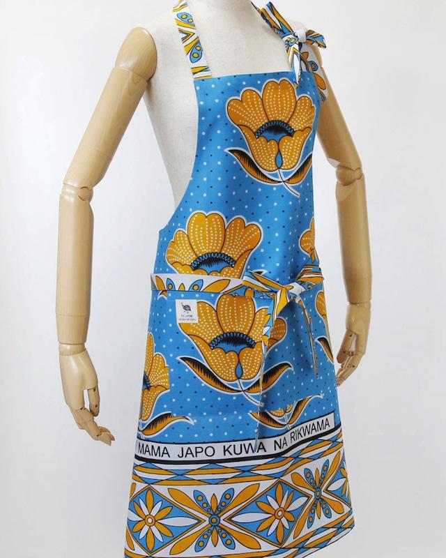 カンガのエプロン|アフリカ布 / アフリカンプリント