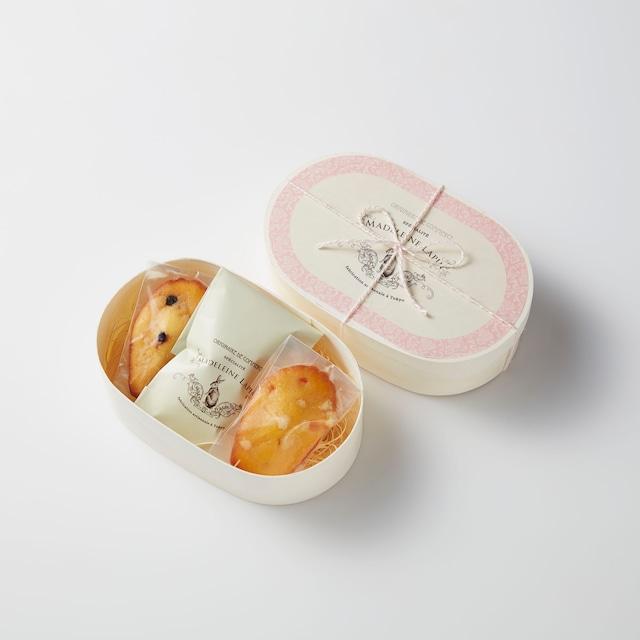 【紅茶:ルイボス】ティータイムセット(マドレーヌ2個・ルイボスハーブティー)