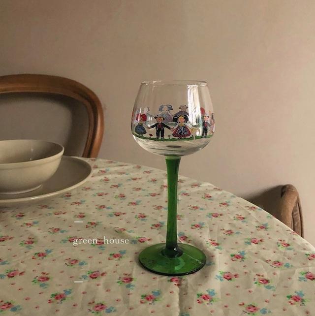 【即納】 It's a Small World glass / グラス /  韓国インテリア / kr-56
