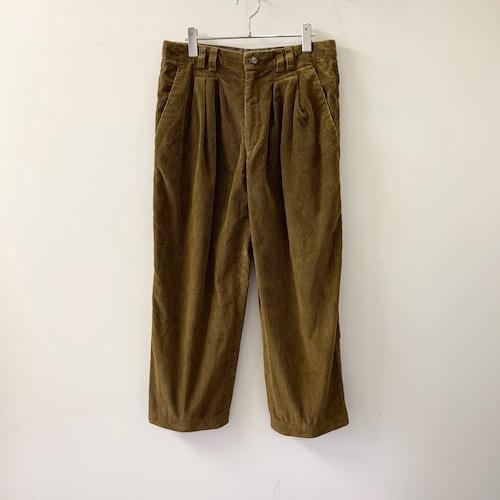 NOSTRIKE CASUAL コーデュロイパンツ ブラウン イタリア製 メンズ 古着