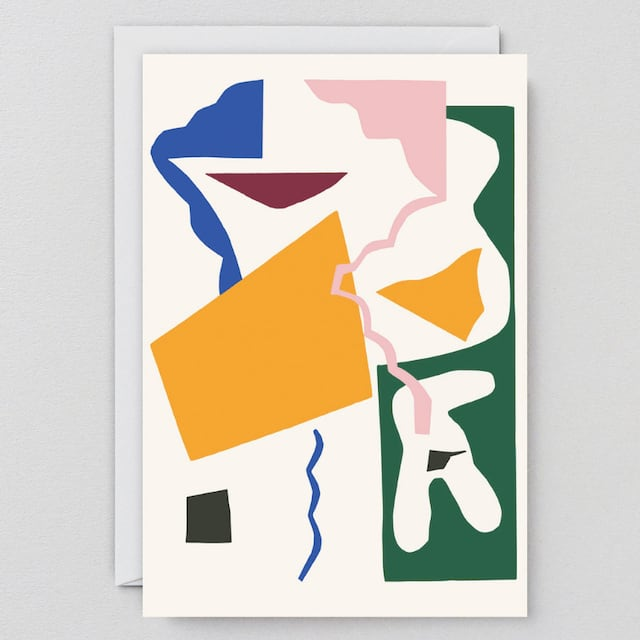 WRAP / ABSTRACT 10 ART CARD -Illustrated by Antti Kekki- アートカード