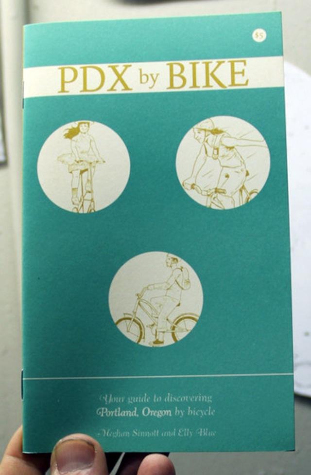 洋書 - PDX by Bike: Your Guide to Discovering Portland, Oregon by Bicycle (Zine)