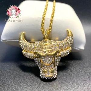 chicago bulls necklace