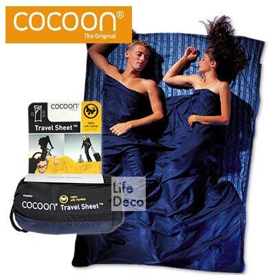 Cocoon コクーン シルク トラベルシーツ Ripstop リップストップ カップラー ST24RS-C