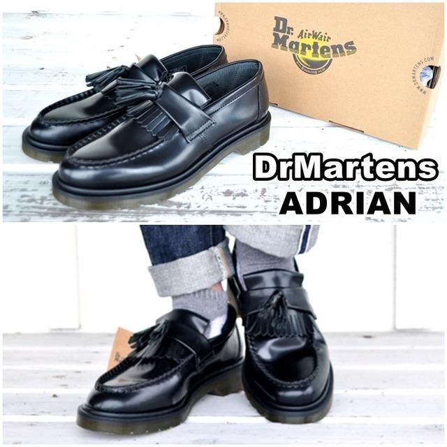DrMartens  ドクターマーチン タッセルローファー  ADRIAN エイドリアン ローファー メンズ 14573001 レザーシューズ