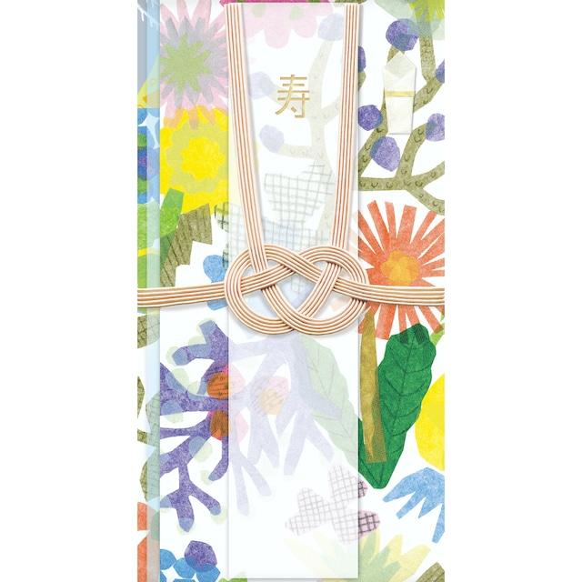 ひびのこづえ 祝儀袋AWAJI / FLOWERS あわじ結び 婚礼・お祝い事用 POL099
