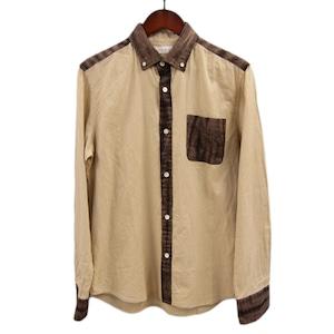 日本製オックス×有松絞 カジュアルと伝統工芸を融合させたボタンダウンシャツ
