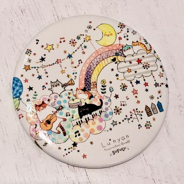 Lu*nyan 空の音楽会 缶ミラー