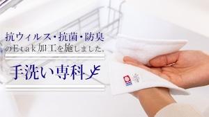 手洗い専用タオル 「手洗い専科」5枚セット