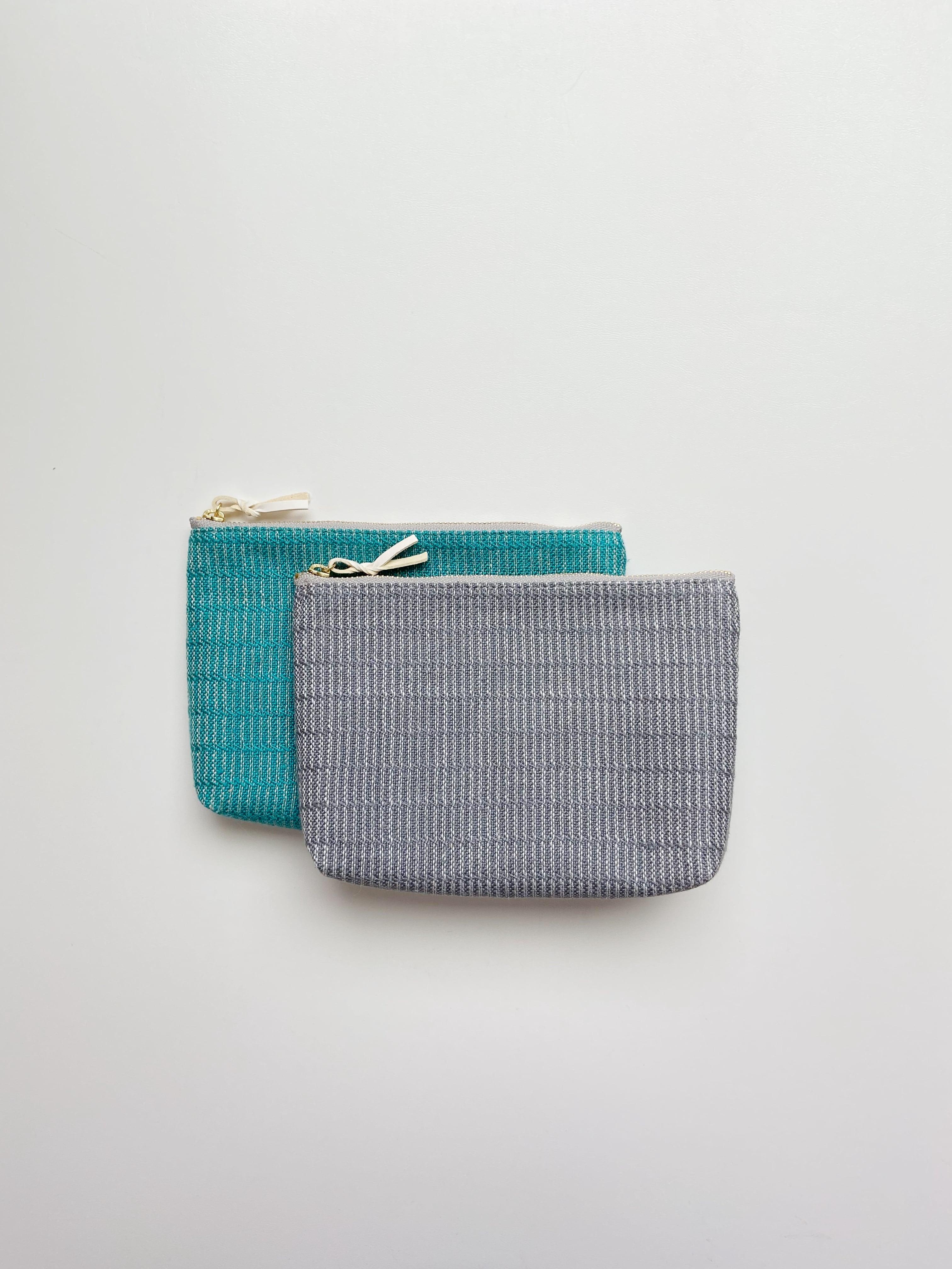 手織りメイクポーチ (HAND WOVEN Make up bag 18cm Alinea)