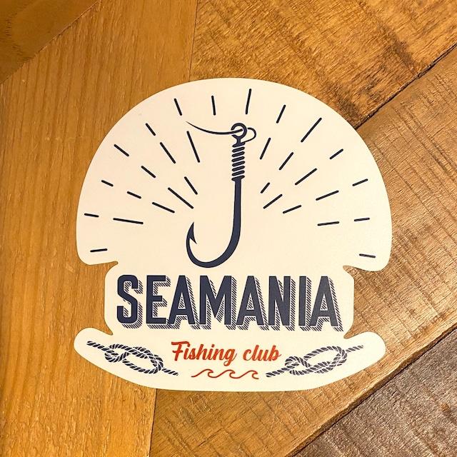 【Seamania】フックモチーフステッカー