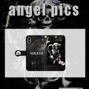 angel pics case 手帳型