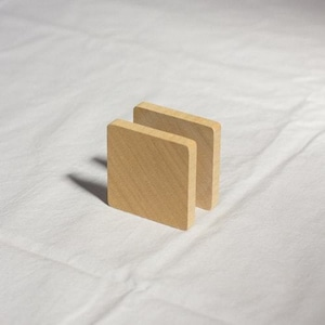 Wooden Code Reel Square