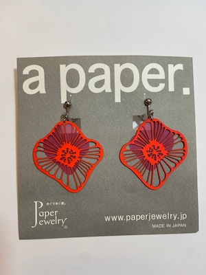 【Paper Jewely】カイカ/イヤリング