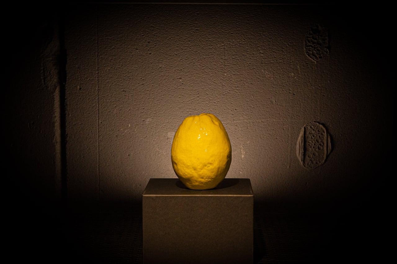Lemon Vase