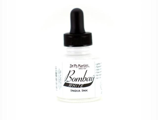 Dr. Ph. Martin's Bombay India Inks -White-